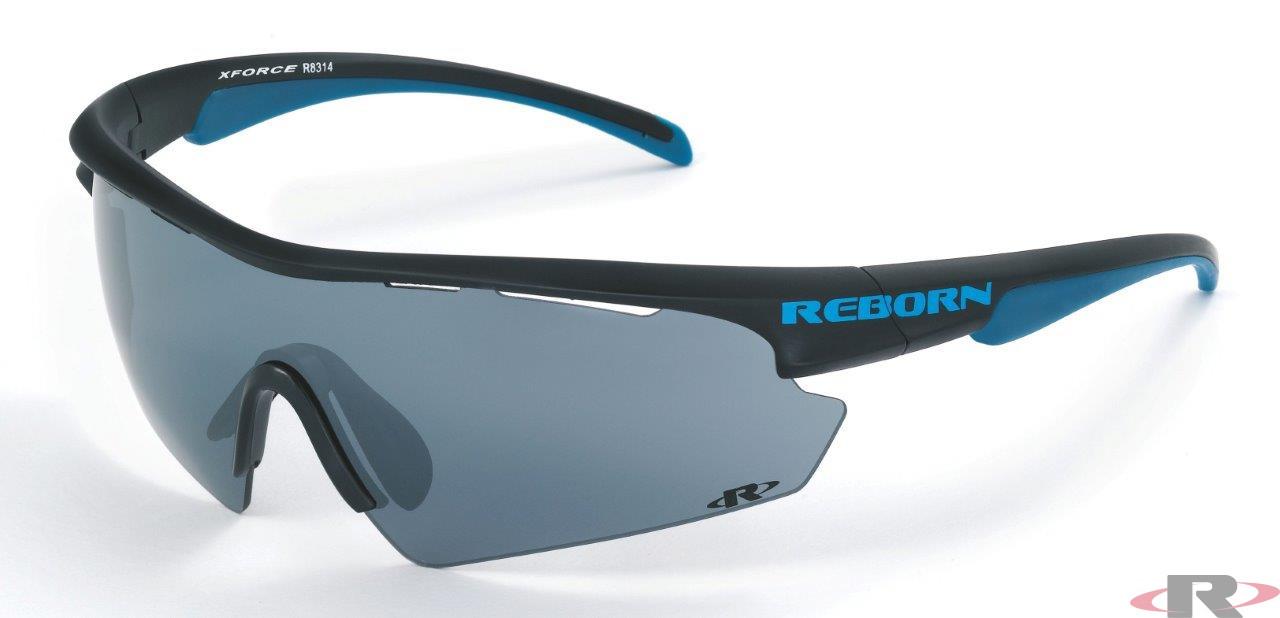 X-PRO schwarz matt-blau