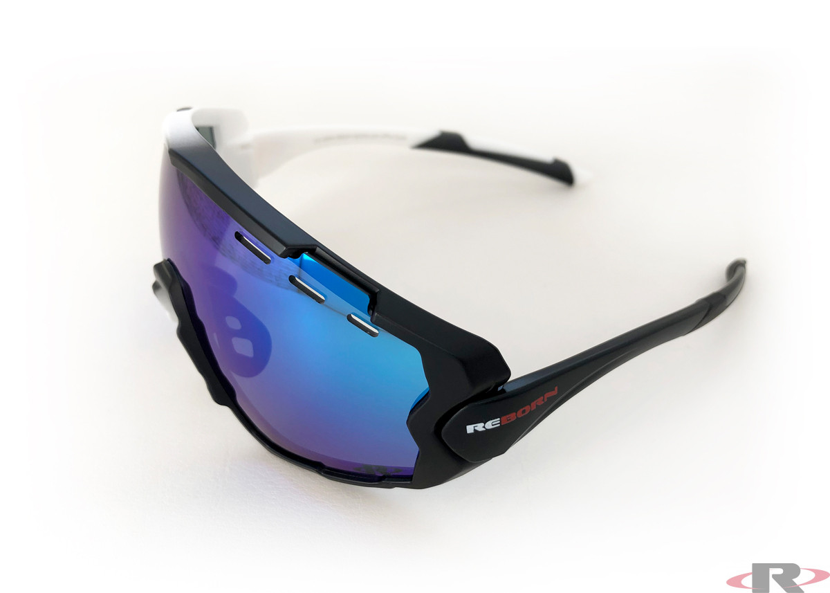 X-PRO Cycle black/white / revo blue/ice