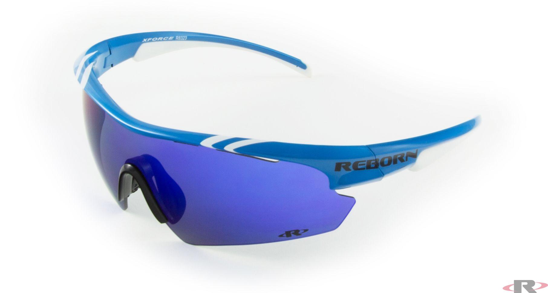 X-PRO blau-weiss / revo blau