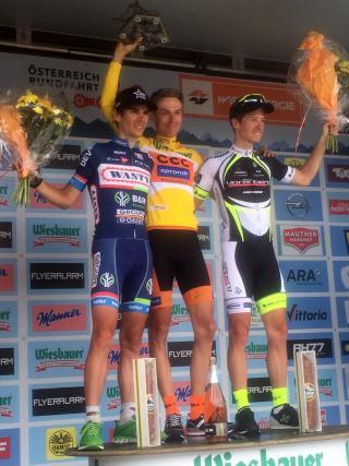 Patrick Schelling vom Team Vorarlberg wird 3 bei Ö-Tour