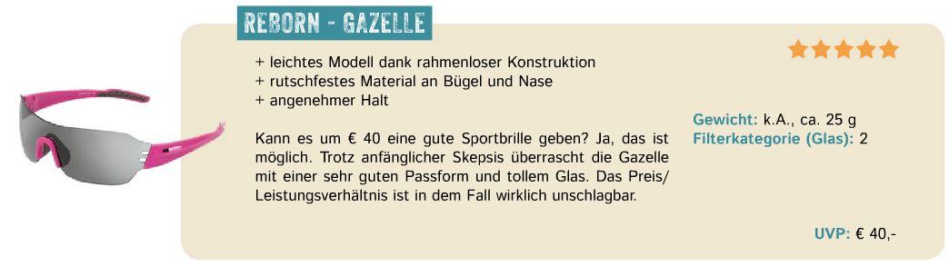 GAZELLE Testbericht